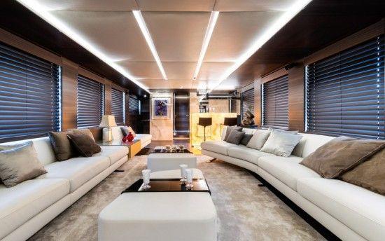 Design D'intérieur De Yacht De Luxe