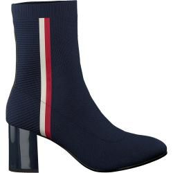 Photo of Tommy Hilfiger Stiefeletten Knitted Heeled Boot Blau Tommy HilfigerTommy Hilfiger