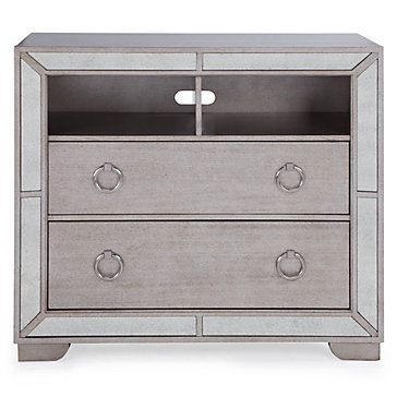 Ava 2 Drawer Media Chest Bookcases Amp Cabinets Home