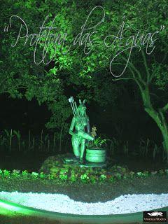 """Escultura """"Protetora das Águas"""""""