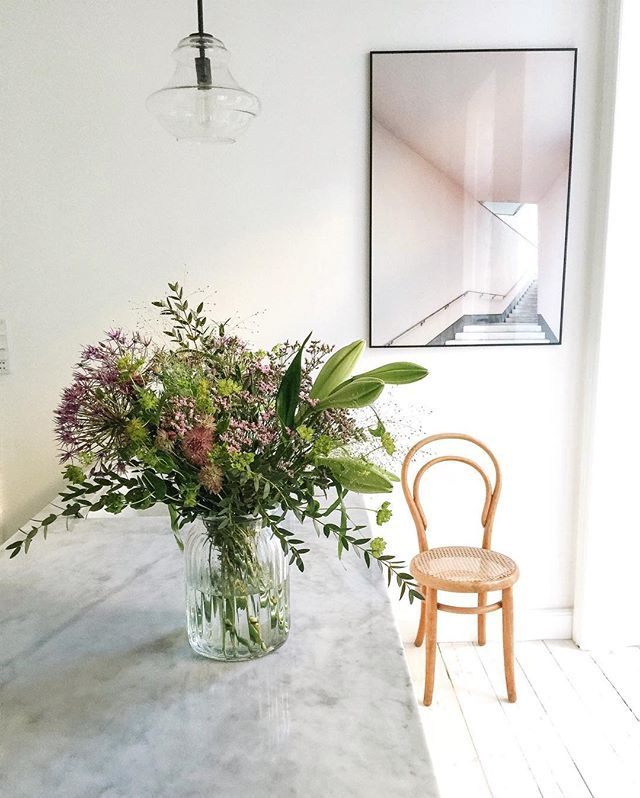 New @posy.dk flowers In my kitchen this morning  #posybyinterflora #sponsored