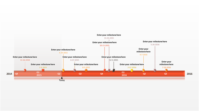 Our Sample Timeline Template Was Built To Be Easily Edited And