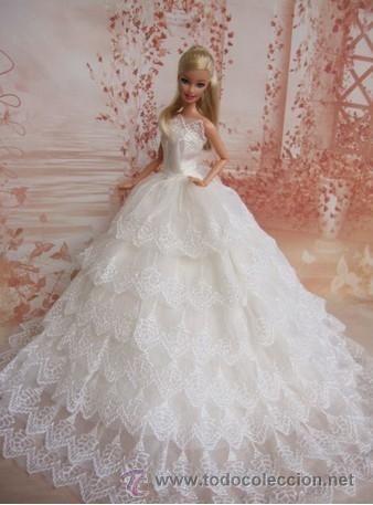pin de @ maria en muÑecas | pinterest | barbie, vestidos de novia y