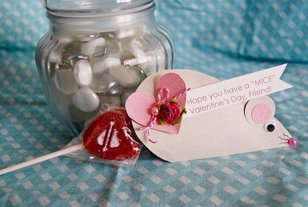 Cheesy Mice Valentines - CreativeMeInspiredYou.com