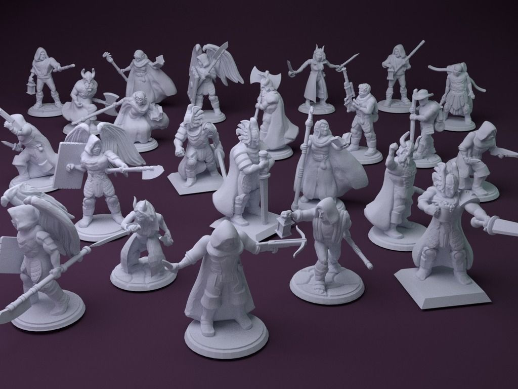 Fantasy Mini Collection (multiple poses) by stockto