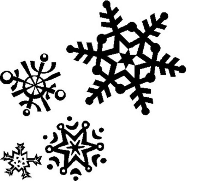 snowflakes snowflake clipart t l winter pinterest snowflake rh pinterest com snowflake clipart snowflake clipart background