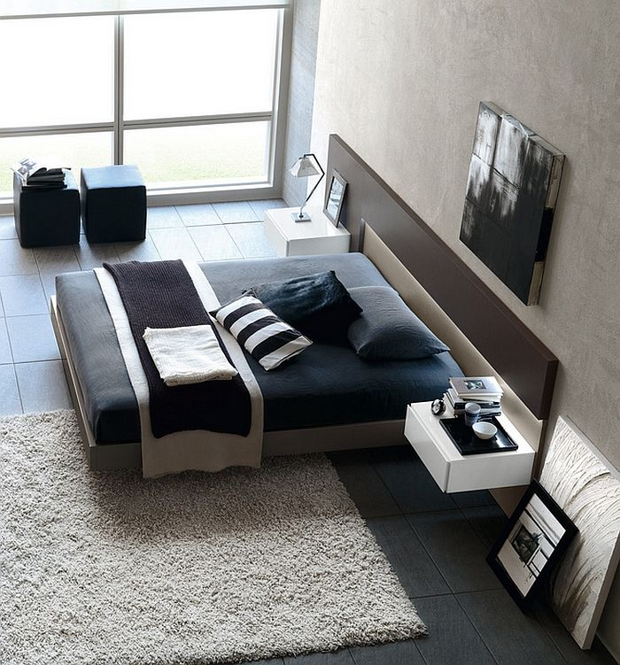 Exquisite Modern Bedroom With A Minimal Style And A Masculine Appeal