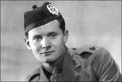 Major David Lidell 12th Bn Cameronians WWII