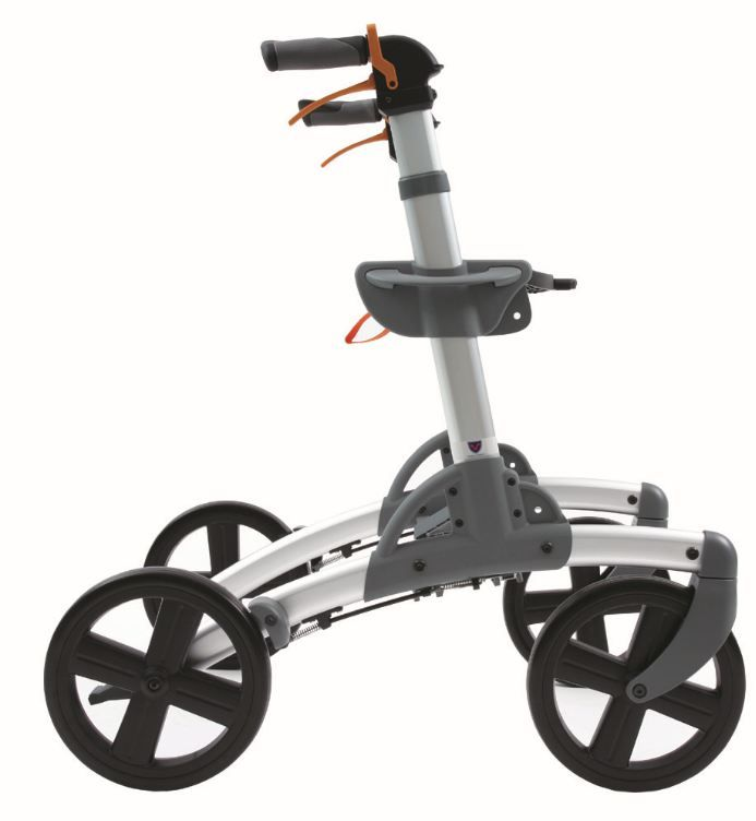 All Terrain Fitness Rollator Walker With Big Wheels Walker For Seniors Mobility Walkers Big