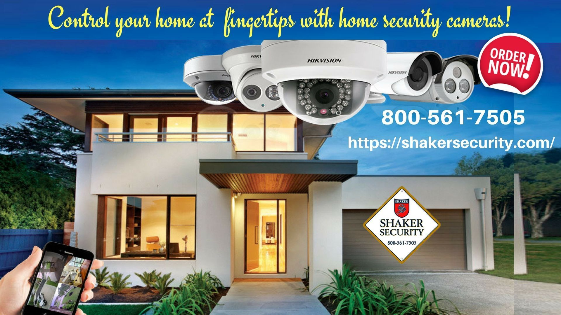 Keeping your home safe is important for you u your loved ones Order