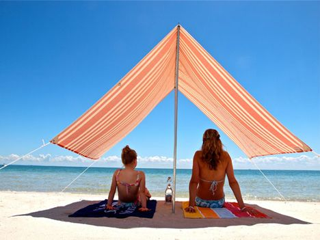 Beach & love these Hollie u0026 Harrie shade tents 95% UV protection super ...