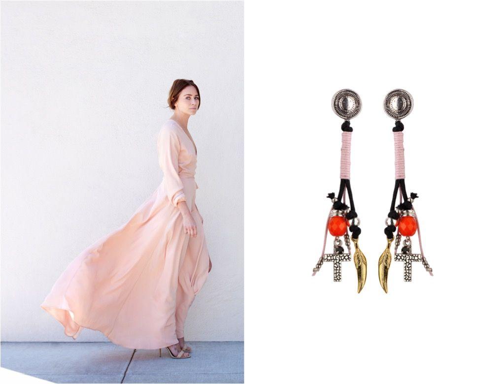 Be always delicate, but flirty with Manola Jewelry. SHOP online Flirty earrings: http://manolajewelry.com/product/flirty-earrings/