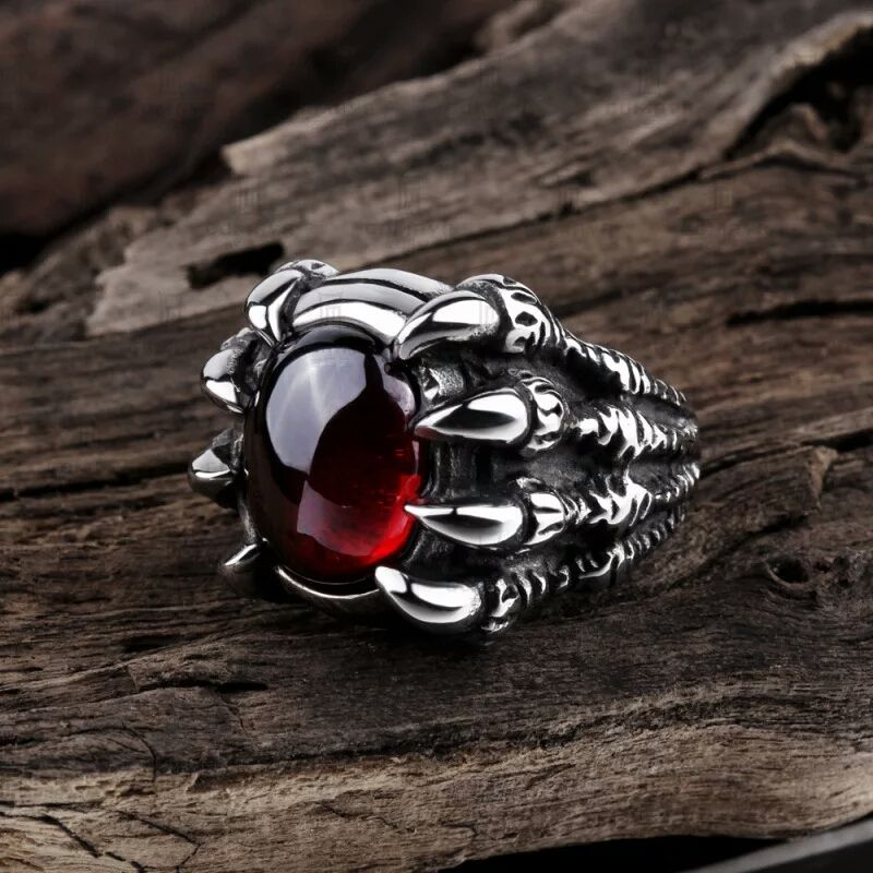 Photo of Punk Stainless Steel Ring – free shipping worldwide