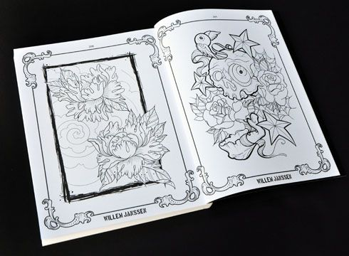 Tattoo Colouring Book Oh Yeah Coloring Books Tattoo Coloring Book Book Projects