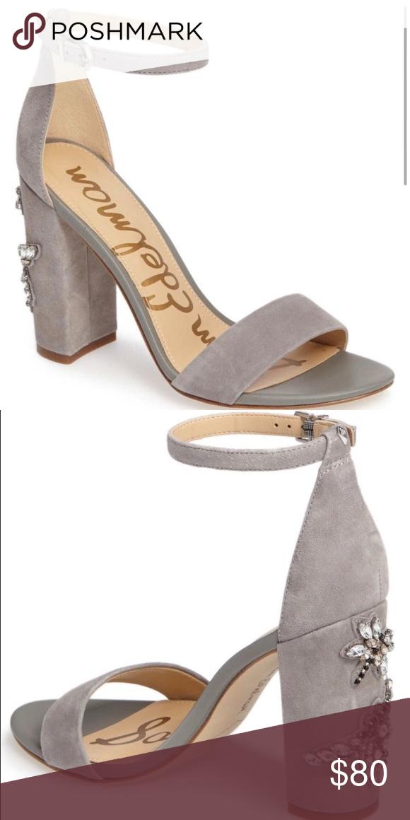 9e8d83b75bb Sam Edelman Yaro Ankle Strap Yaro Ankle Strap Sandal. Grey frost. Brand New  in box. Size 9.5. Sam Edelman Shoes Sandals