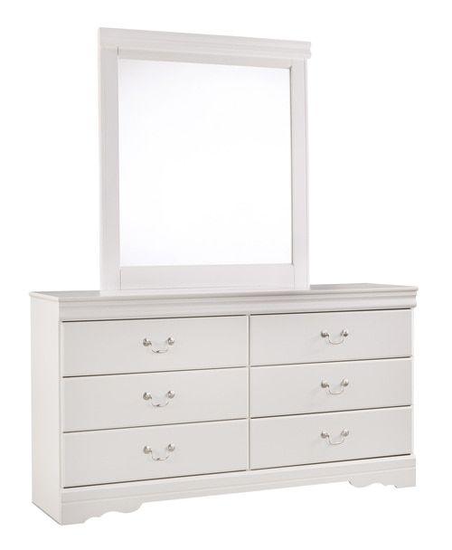 Best Anarasia White Bedroom Mirror B129 36 Ashley Bedroom 400 x 300