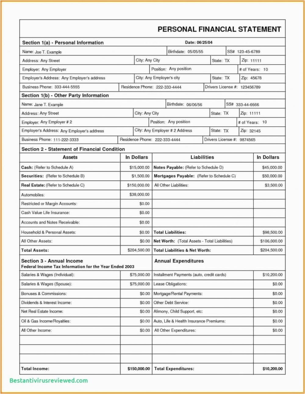 Homeschool Report Card Template Free Lovely Blank Fillable Th Grade With Regard To Fake Col Personal Financial Statement Financial Statement Statement Template