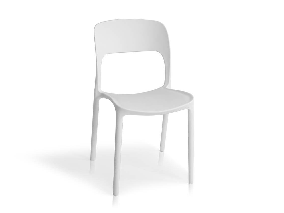 Florian Kunststoff Stuhl Weiss Stuhle Esszimmerstuhle Esstisch Stuhle