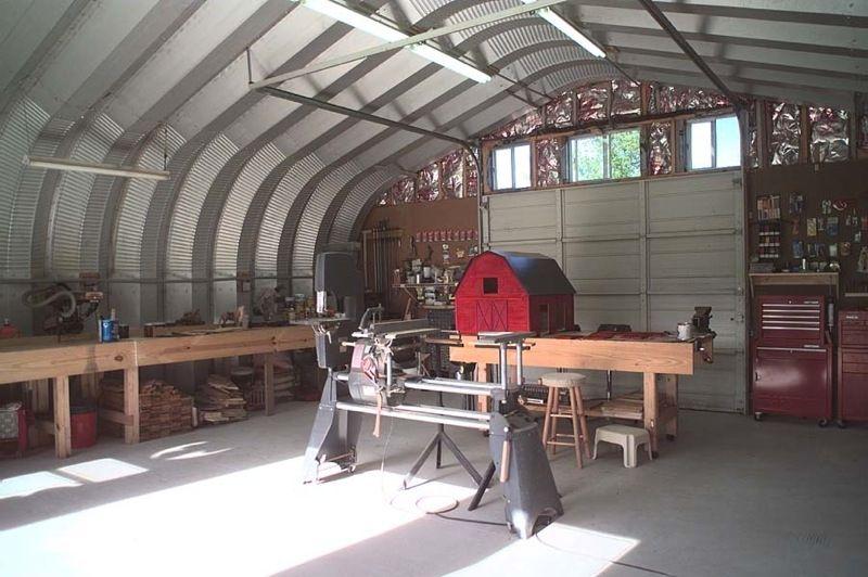 taller acero interior | Cabins | Quonset hut, Metal shop