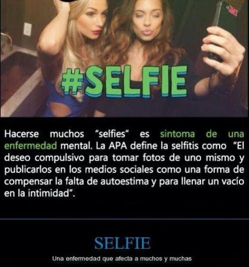 Selfies enfermedad mental?