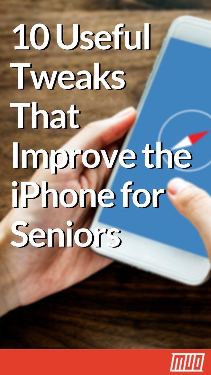 10 Useful Tweaks That Improve the iPhone for Seniors