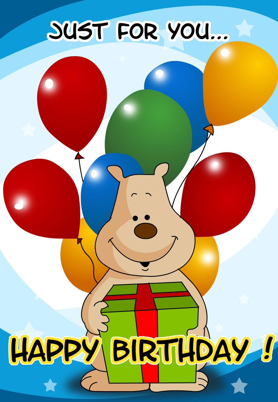 Animated Birthday Birthday Greetings Birthday Wishes Happy - Free childrens animated birthday cards