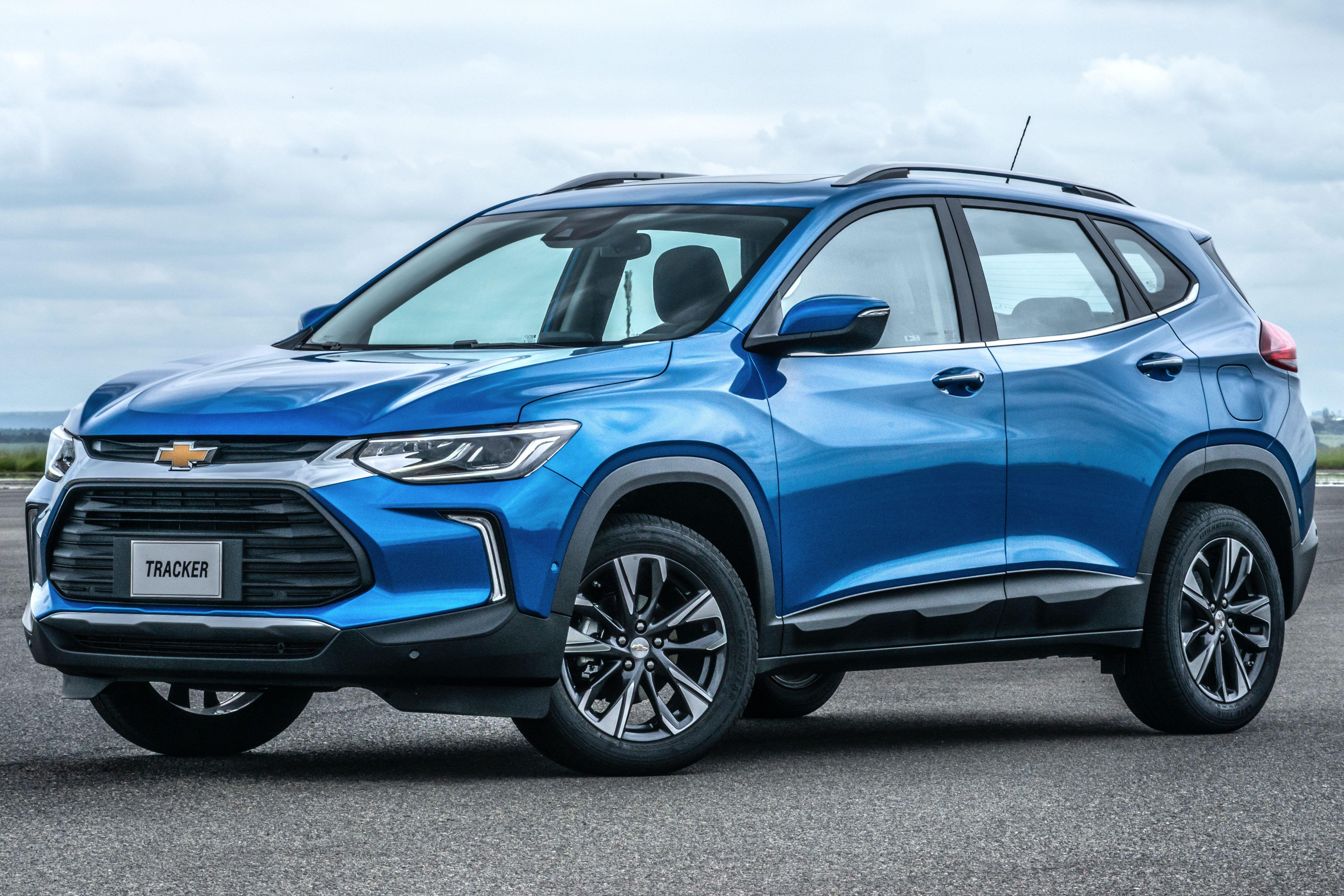 Novo Chevrolet Tracker Concentra 80 Das Vendas Nas Versoes Mais Caras Em 2020 Suv Nova Suv Compacto