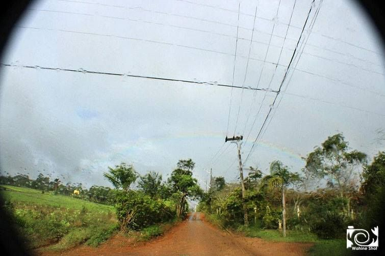 Dia chuvoso + Arco iris Local: Biritiba Mirim SP Foto por Paola Vaz By Wahine Shot