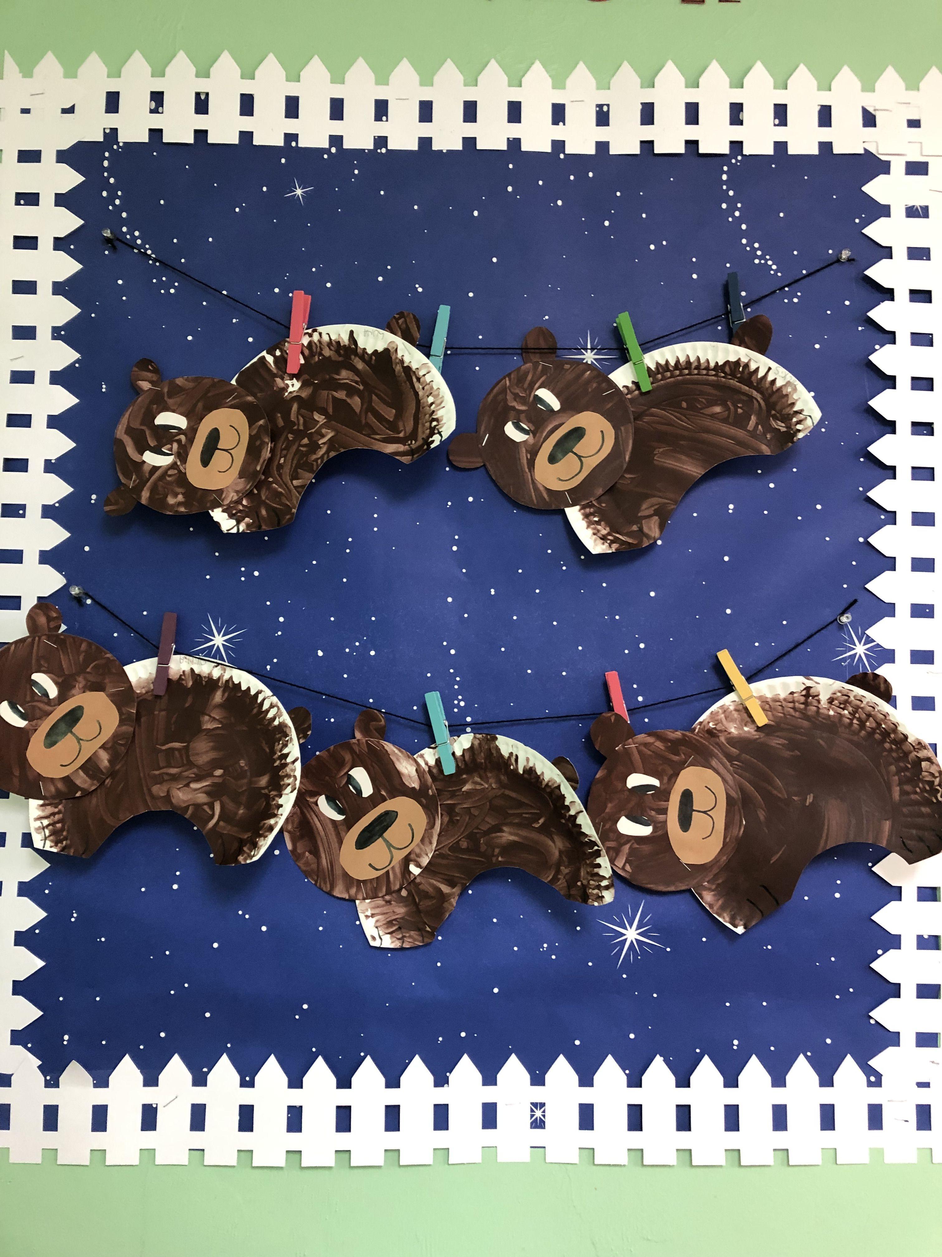 Paper Plate Bears