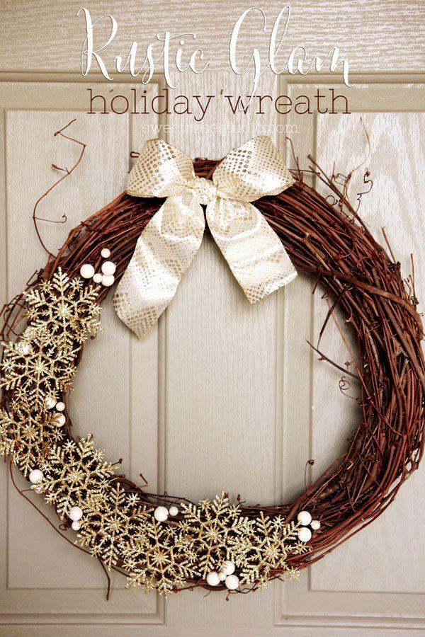 ЗАЗЕРКАЛЬЕ Вдохновение Рождественские венки Christmas Wreath - christmas decors