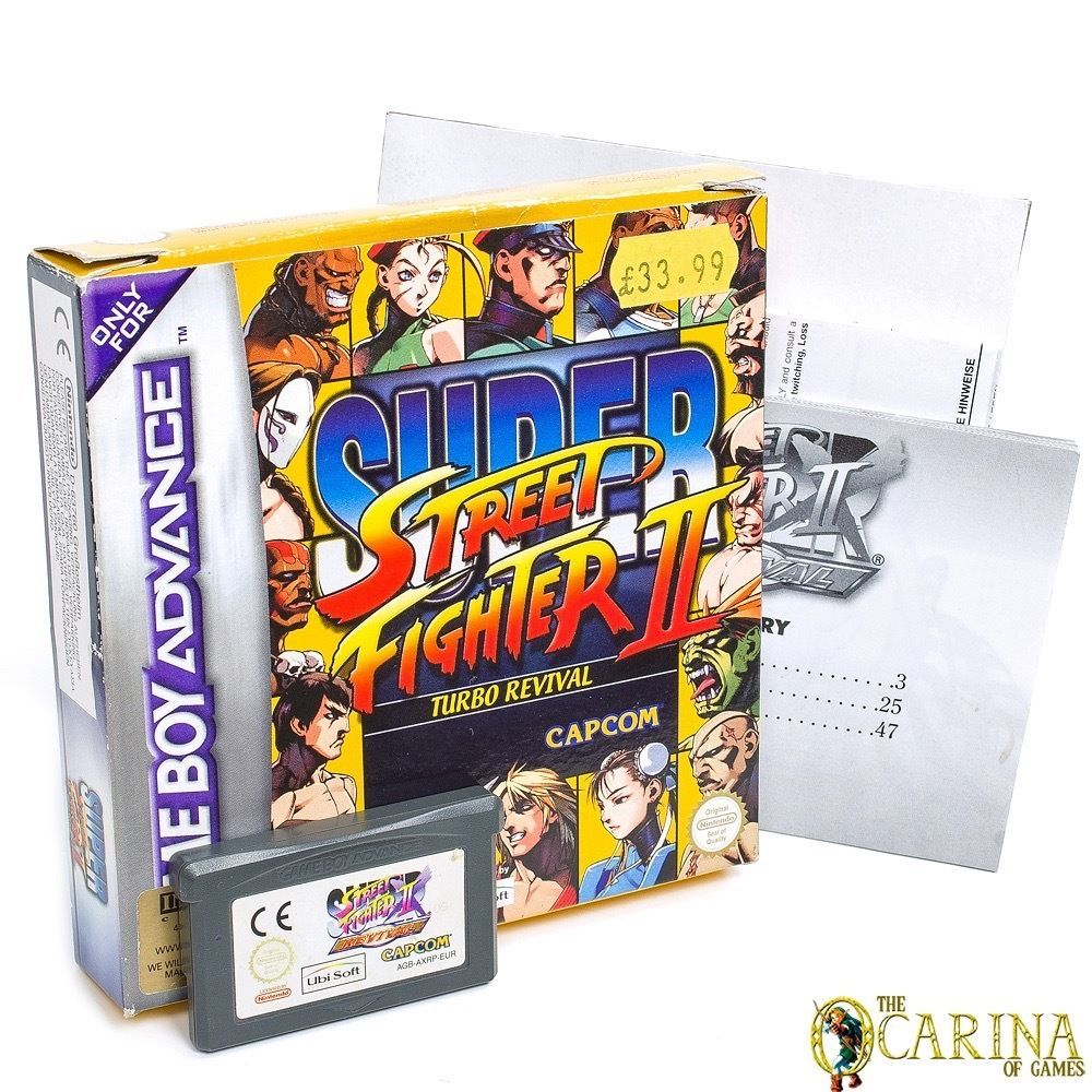 Super Street Fighter 2 Turbo Revival Boxed - Nintendo GBA Gameboy Advanced PAL in Video Games & Consoles, Games | eBay