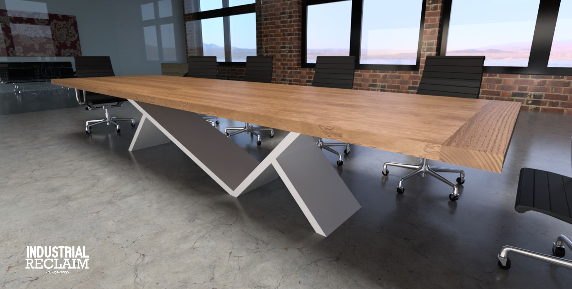 Industrial Reclaim   Custom Built Conference Tables