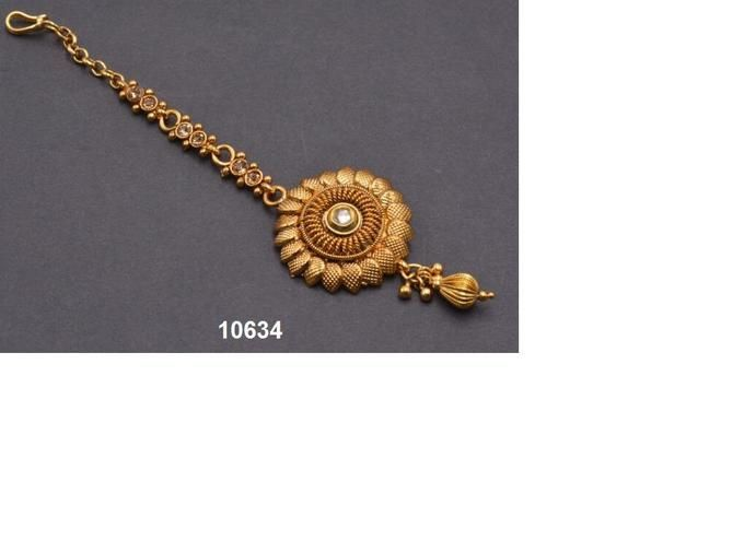 Amazing Gold Plated Manng Tikka973