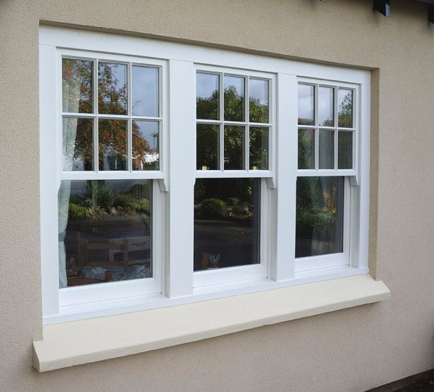 Triple sash window windows pinterest sash windows for Replacement window design ideas