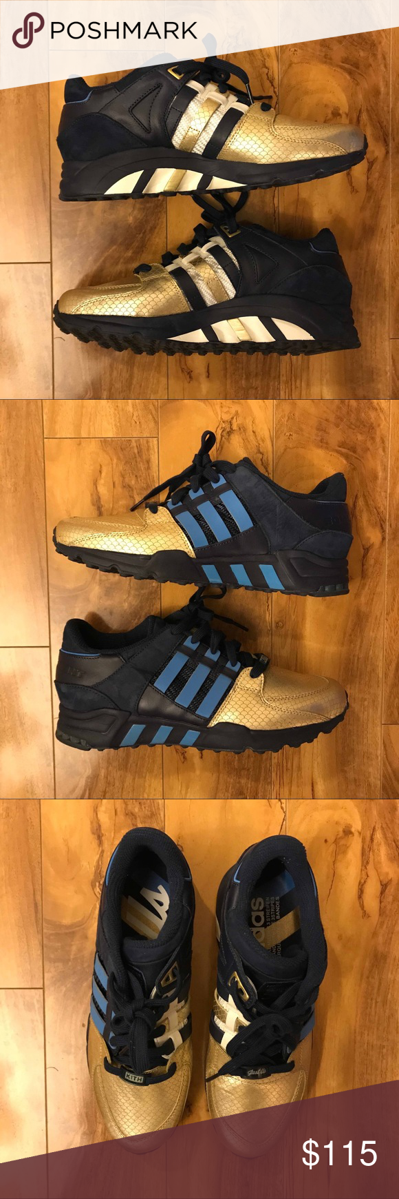 san francisco 3be65 9ed77 Ronnie Fieg Kith Adidas EQT Support 93 NYC Bravest Lightly used Ronnie Fieg  x Kith x Adidas EQT Support NYC s Bravest sneakers, size 8.5. 8 10  condition.