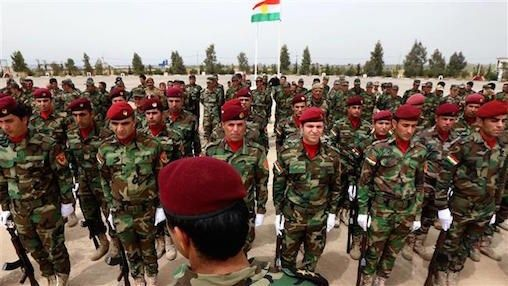 Why would the US pick Turkey over the Kurds? Paul Davis, October 5, 2015, Veterans Today: Kurdish Peshmerga at a graduation ceremony in Erbil, April 2015 Photo: AFP