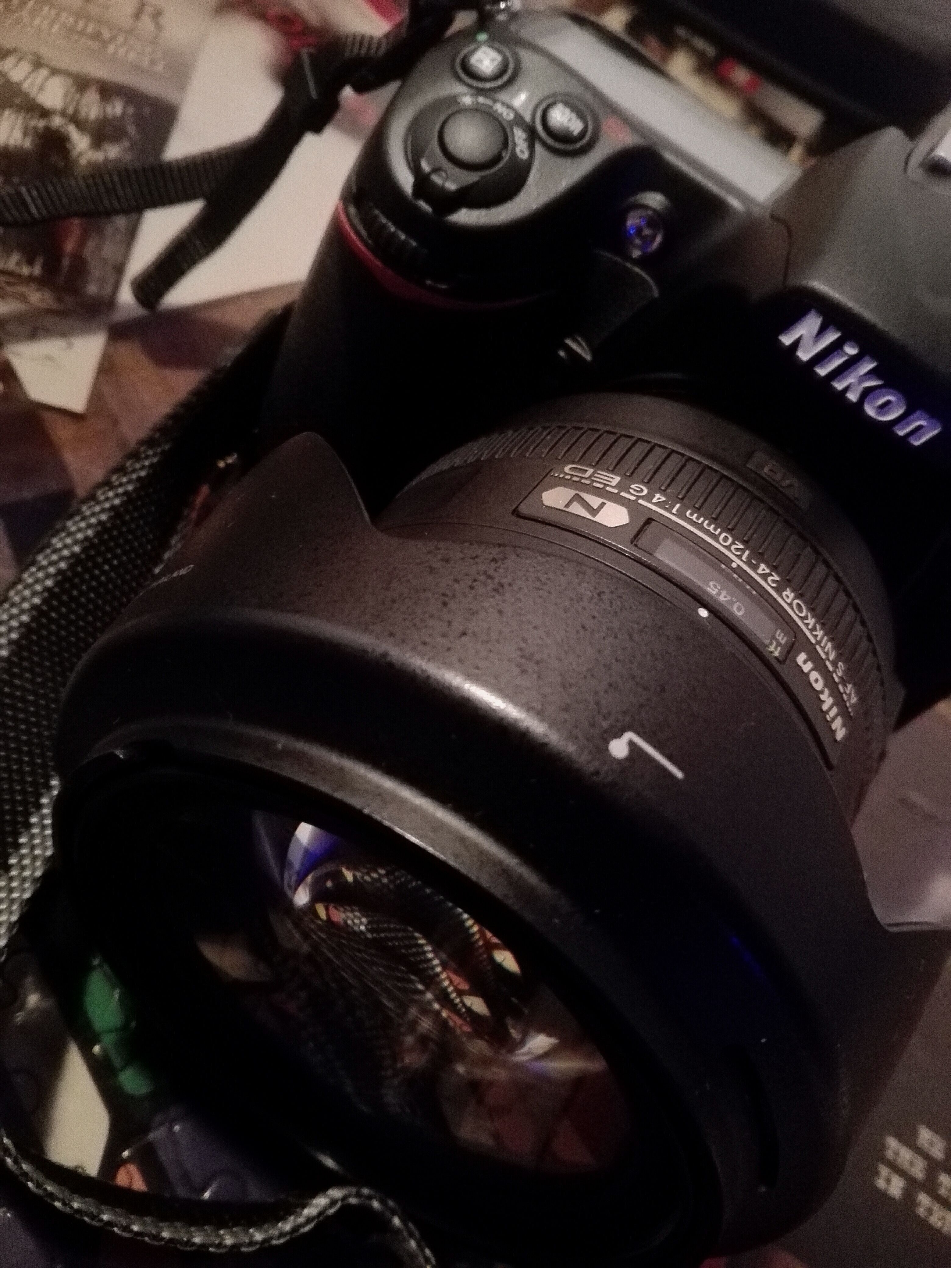My New Partener D300s With 24 120 F4 Lens Alfa Romeo 156 Binoculars Lens
