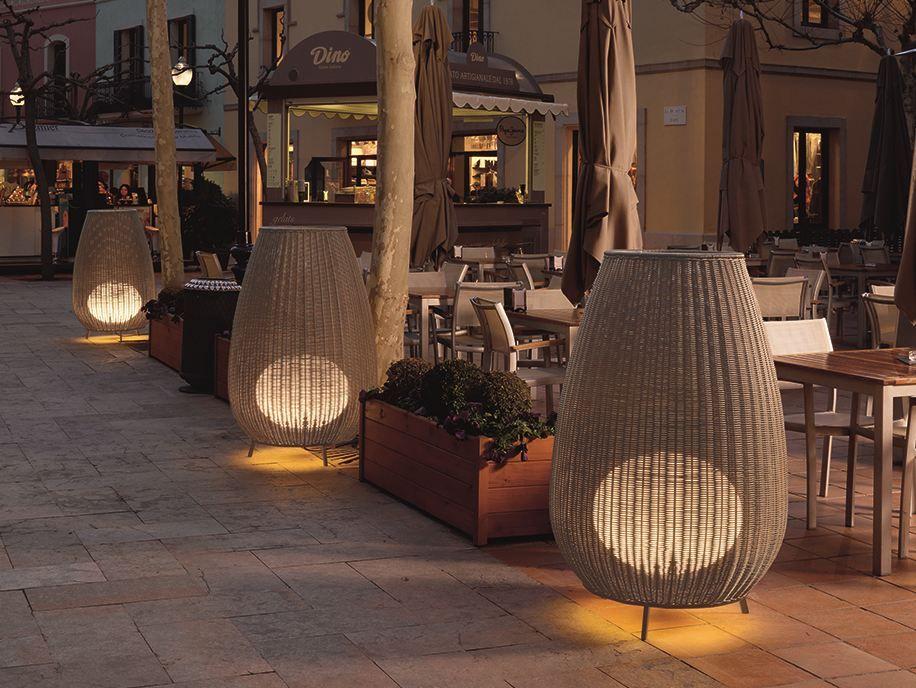 L Anfora Rattan Amphoren Lounge.Floor Lamp Amphora 02 By Bover Design Gonzalo Mila Alex Fernandez
