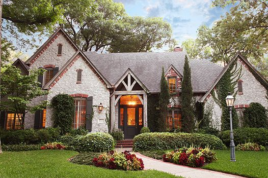 10 Most Beautiful Homes In Dallas I Love This House French Cottage Garden