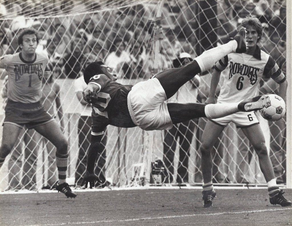 Pele Jairzinho and Brazil Teammates Relax 1966 World Cup Poster