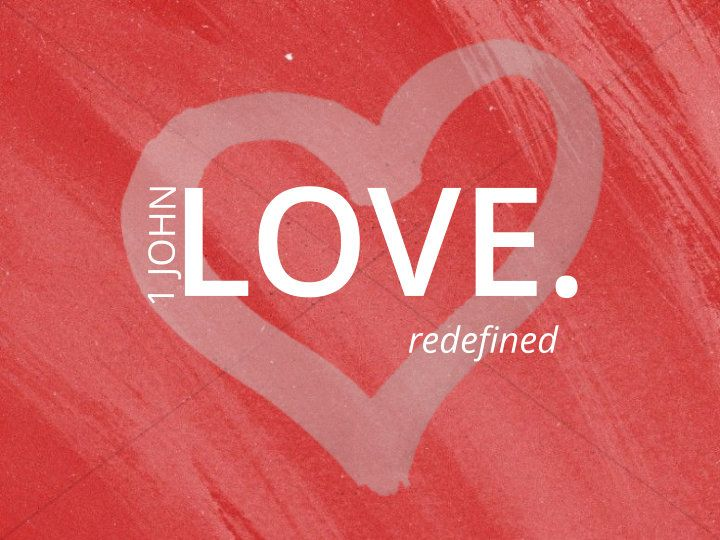 love; redefined.
