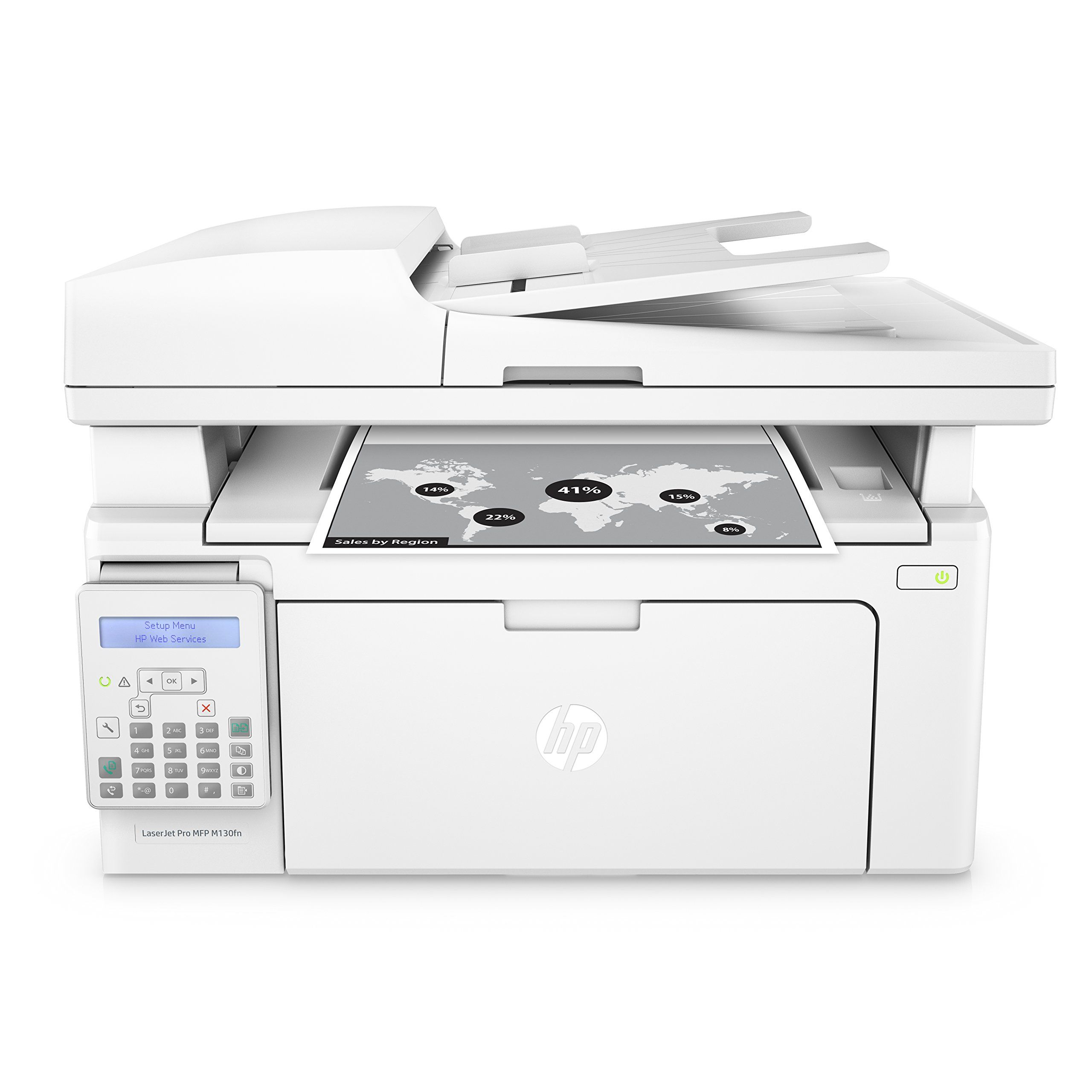 Hp Laserjet Pro M130fn Allinone Laser Printer With Print Security Amazon Dash Replenishment Ready G3q59a Replaces Multifunction Printer Laser Printer Printer
