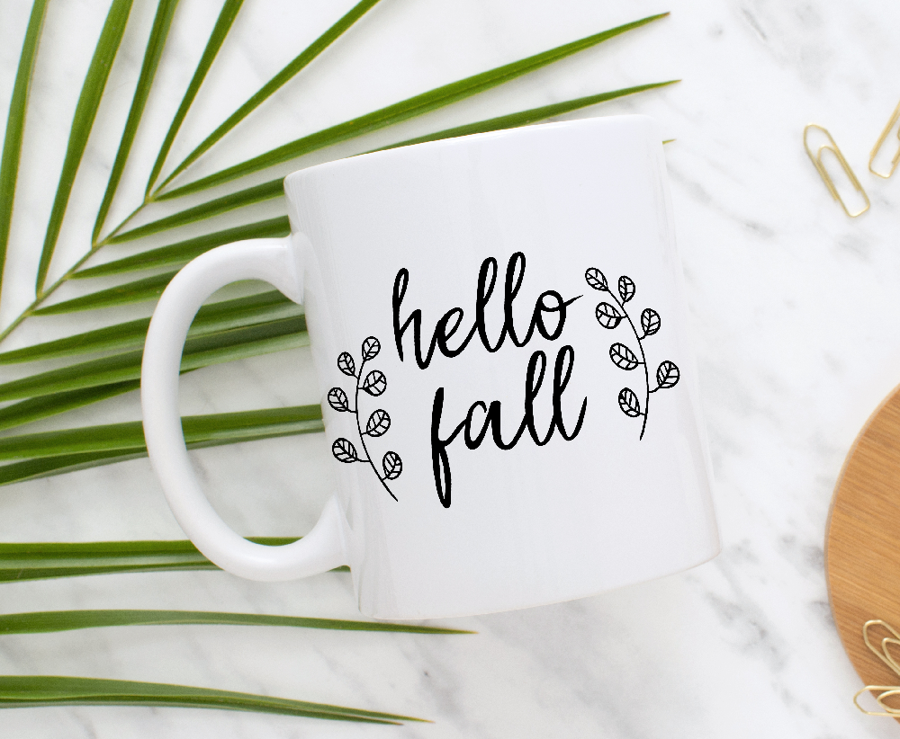 Hello Fall Fall Svg File Dxf And Png File By Grafikstudio Thehungryjpeg Com File Ad Svg Fall Dxf Adver Hello Autumn Abstract Design Design