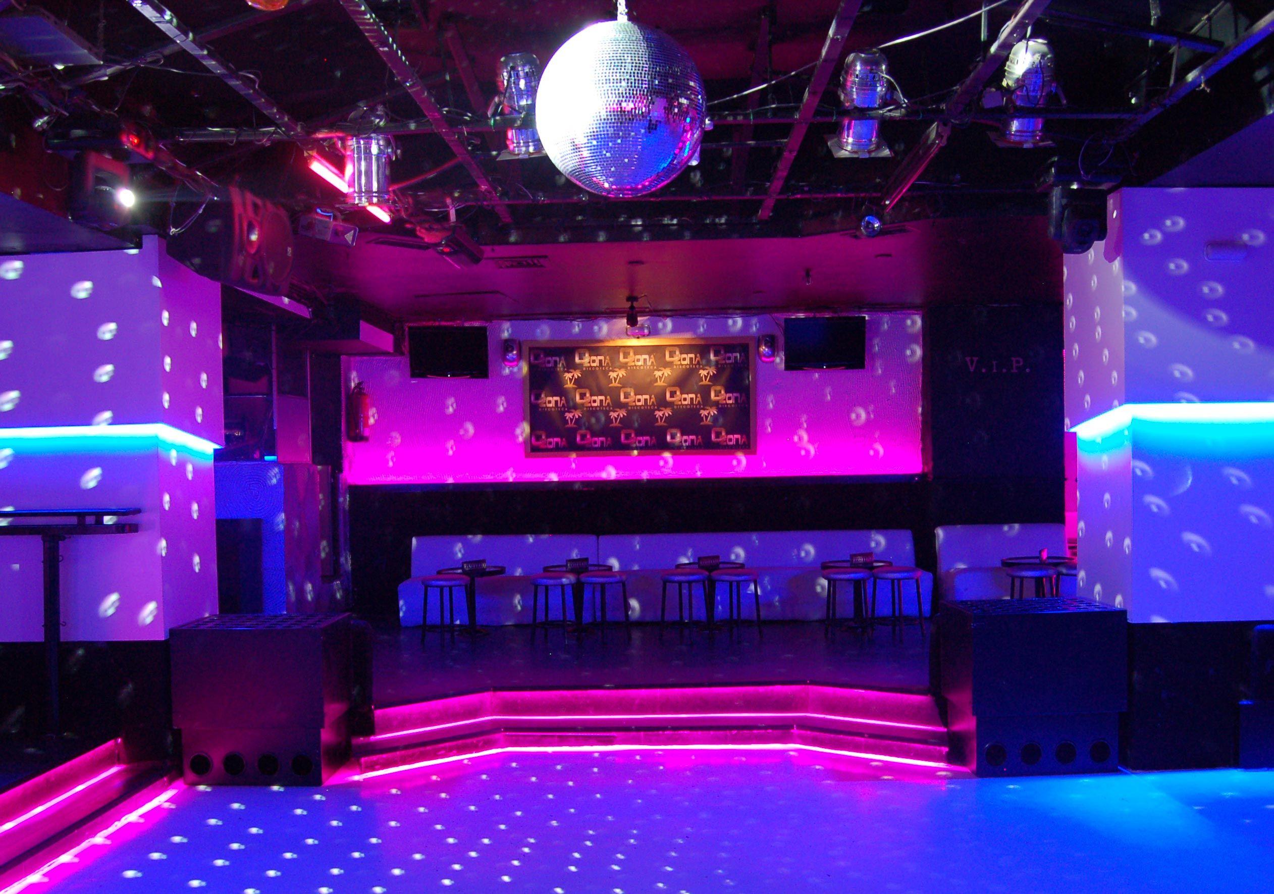 Night Club Interior Design Silvan Francisco Discoteca Ozona