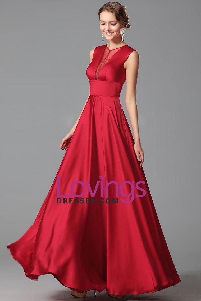 concise vneck prom dresses burgundymaroon aline chiffon