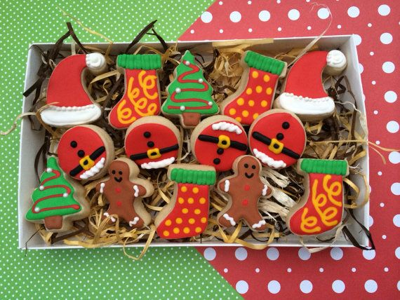 Christmas Custom Mini Sugar Cookie box