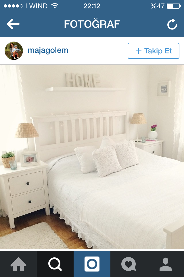 HEMNES BEDROOM. Love The Curtain And The Duvet Cover With