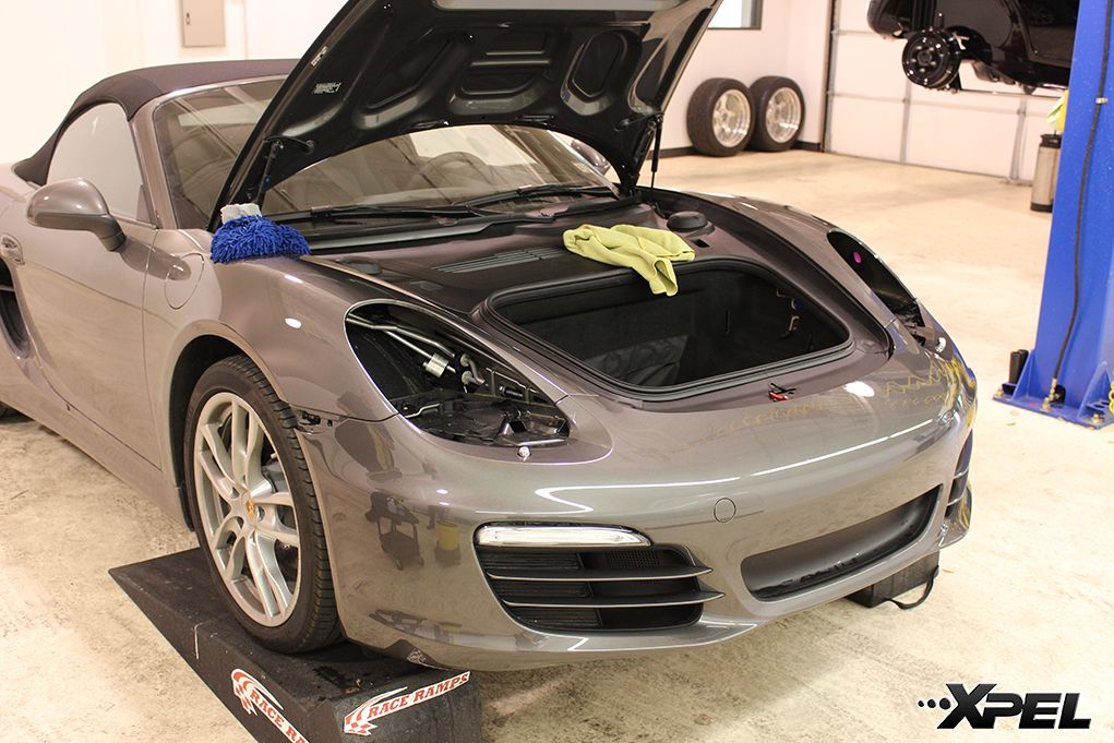 When installing on a Porsche we always remove the