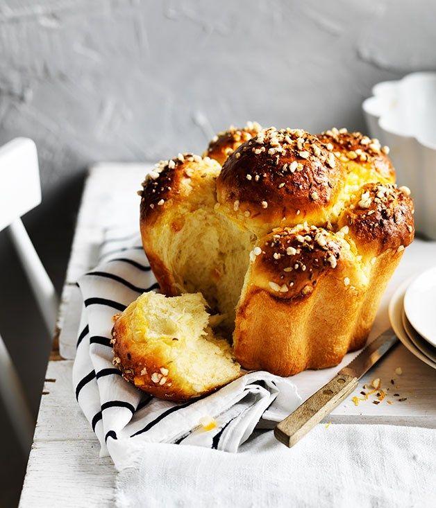 Fennel and orange sugared brioche recipe - Gourmet Traveller