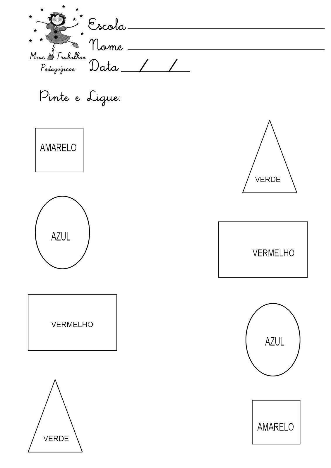 Pin Em School Worksheets